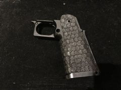 CRW custom Stippling Service for DVC style 5.1 Marui grip